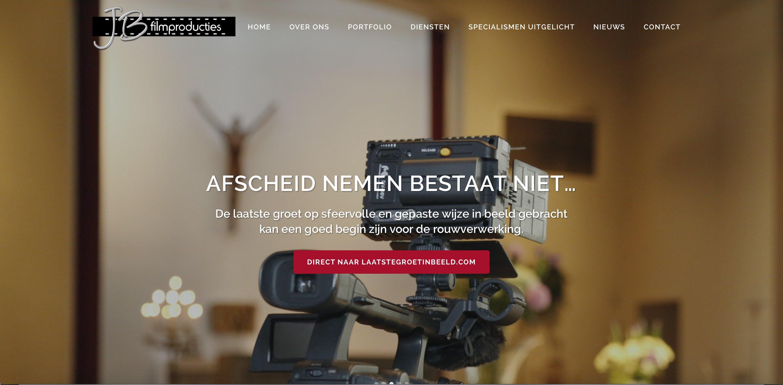nieuwe websites voor jb jb filmproducties carousel image carousel image