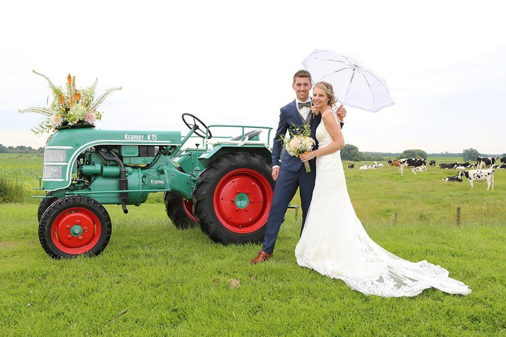 Huwelijksreportage - Bertus en Marieke